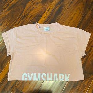 Gymshark Fraction Crop Top - Pebble Pink NWOT